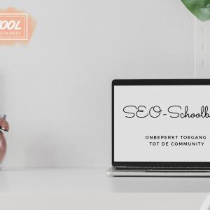 De SEO-Schoolbank header